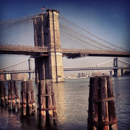 Brooklyn Bridge (Taken with instagram)