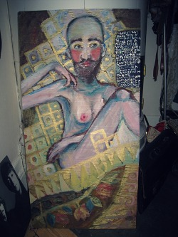 partyussolius:  a painting i made a couple of nightzz ago  fantastisk!!!