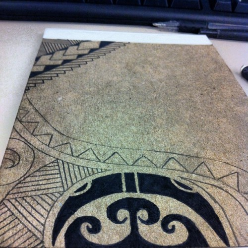 #sketching out my first attempt of #polynesian. So far is it a yay or nay? #bored once again at #work #wellsfargo #iphone #iphone4 #iphonesia #iphoneonly #iphoneography #tattoo #art #sketches just another random #doodle #reno #envy  (Taken with instagram)