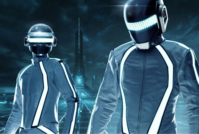 Future Daft Punk collars with DJ Paul Williams under-radar-mag: