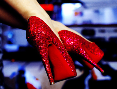 Dorothy's ruby red shoes…. ~Lolo In Everyday Heels