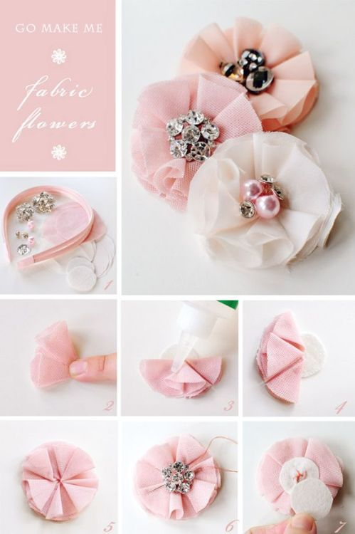 ohlordylord:  DIY- bejewelled flower headband.
