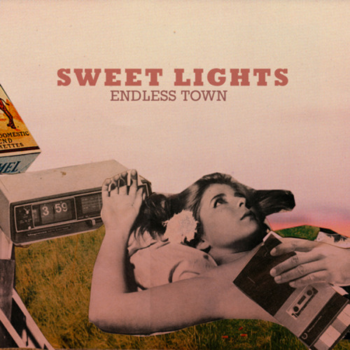 "Sweet Lights 'Endless Town' 7"" is out today in the UK on limited edition transparent vinyl! B-side is a cover of the Traveling Wilburys classic 'Handle With Care'. Limited to 300 copies, hand-numbered. Both tracks are also available to download worldwide. Buy from Highline."