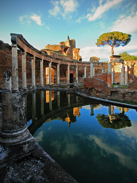 ysvoice:   | ♕ |  Rome - Hadrian's Villa in Tivoli, UNESCO WHS  | by © Frédéric L  Welcome back, my post!