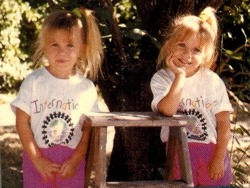 rainbow-kids:  Ashley & Mary-Kate Olsen
