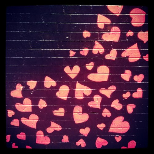 annabeltollman:  Hearts on Elizabeth Street (Taken with instagram)