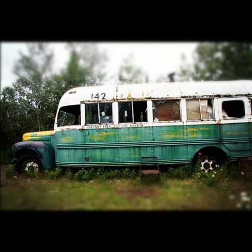 heatherhortonartwork: #photo The Magic Bus, August 2010… (Taken with instagram)