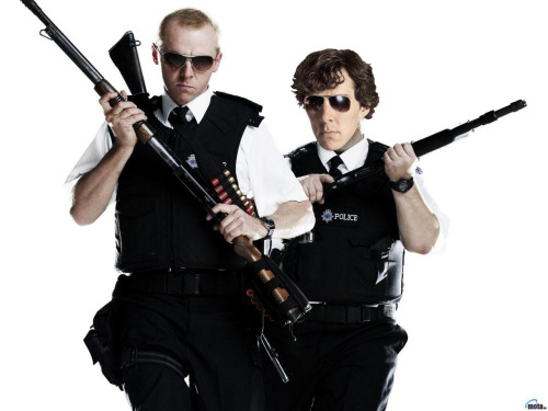 Hot Fuzz: Better with Benedict