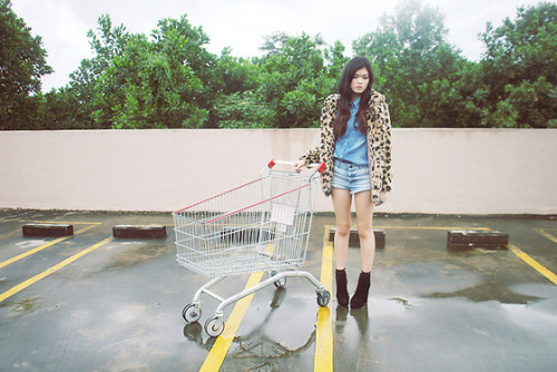 denim + leopard (by Melody Tan)