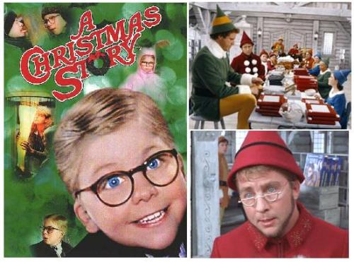 ispyafamousface:  It's Christmas in March! Peter Billingsley, who played Ralphie in A Christmas Story (1983), also made a brief (although uncredited) appearance as Ming Ming the elf in Elf (2003), starring Will Ferrell. Great submission, hermioleen! Follow us on Twitter @ISpyAFamousFace!  No way!!!! I can't believe it!!!