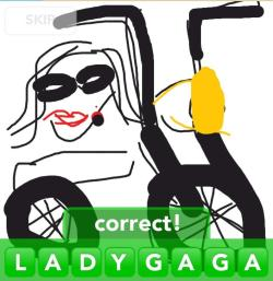Lady Gaga  Thank you for your submission YCKIU !