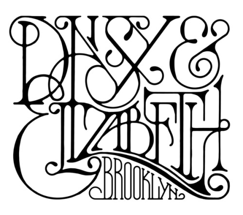 typeverything:  typeverything.com - Daisy & Elizabeth.  Very beautiful piece of typography reminds of the art deco style text.