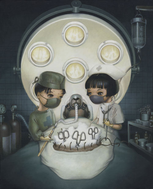 nevver:  Teddy Bear Operation