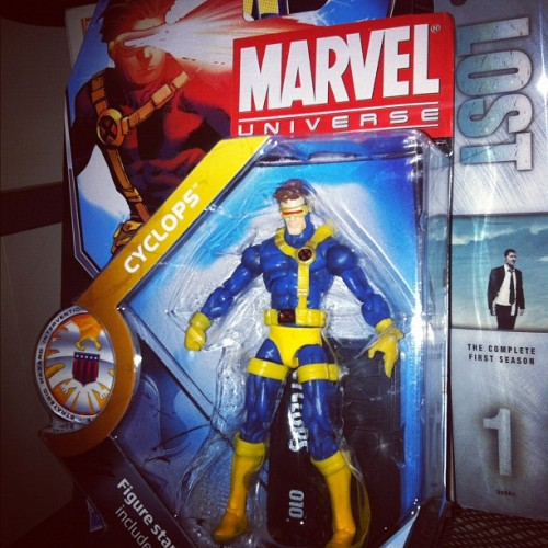 New addition to the family! #cyclops #xmen #comics #actionfigures #toys #marvel (Taken with instagram)