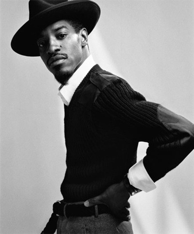 hunkaweek:  March 19, 2012 Andre 3000 Gillette Masters of Style commercial http://www.youtube.com/watch?v=7cZH861tZhs
