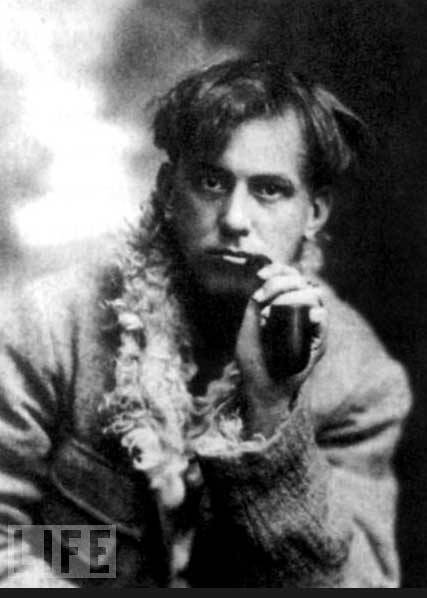 Young Aleister Crowley Perhaps not a total psycho?