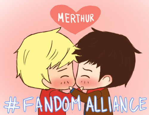 fandomalliance:   Merthur - Merlin By: inphamous