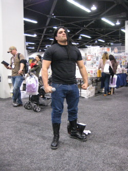 sanguinarywaverer:  THE. BEST. THING. EVER. AT .WONDERCON. 2012