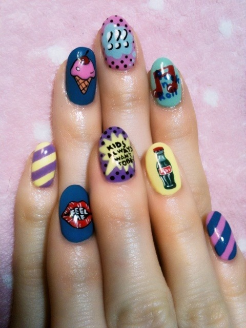 rumpshaker:  seto ayumi's five star nails