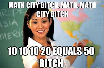 Math city bitch
