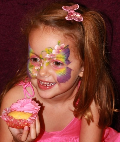 Face painting: Butterfly