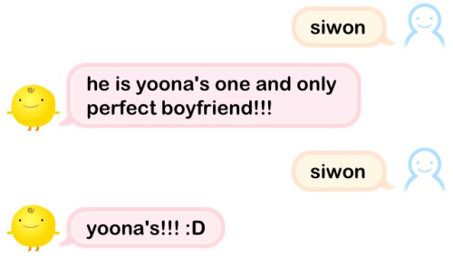 yoonwonforever:  SimSimi knows it all :D