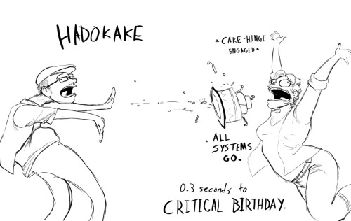Daily Doodle 5: A very Critical BirthdayHappy Birthday Chase!