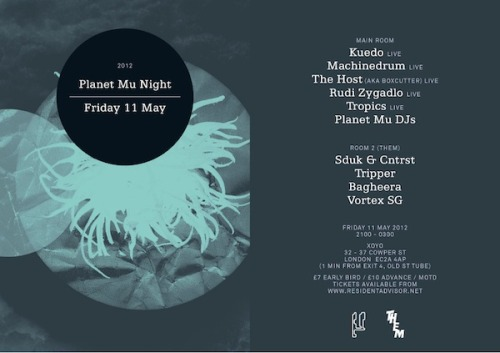 Planet Mu Night, London