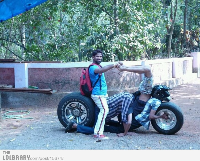 Check out my new motorcycle!Follow this blog for the best new funny pictures every day