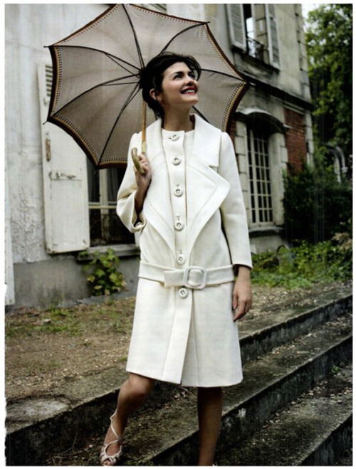 Audrey Tautou by Ralph Wenig  for Vanity Fair Italy