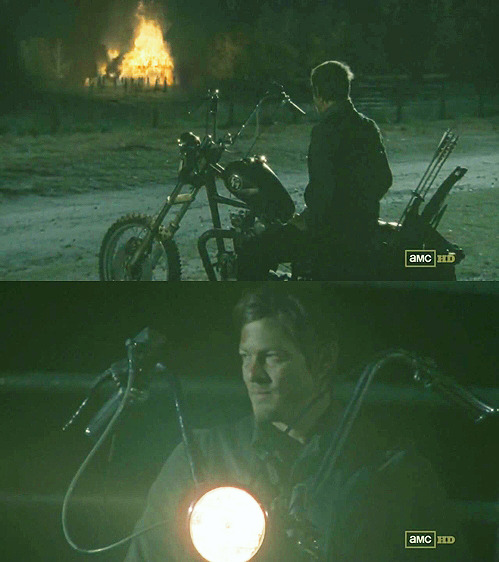 landofthewalker:  Daryl Dixon - Beside the Dying Fire