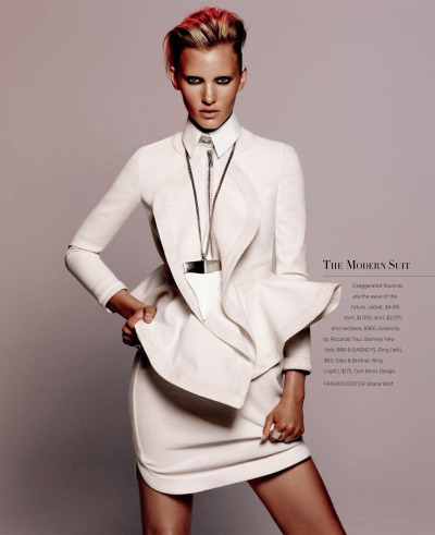 EMILY BAKER features in the latest issue of Harper's Bazaar Us photographed by Daniel Jackson