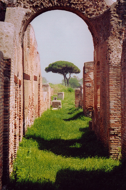 Ostia, the harbour city of ancient Rome. [As requested by the-purblind.tumblr.com]