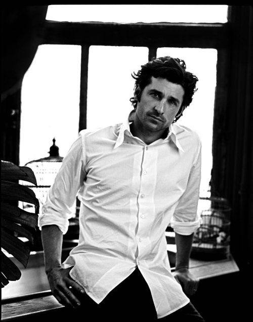 Patrick Dempsey    yes, yes.. I think he's hot, so what!?