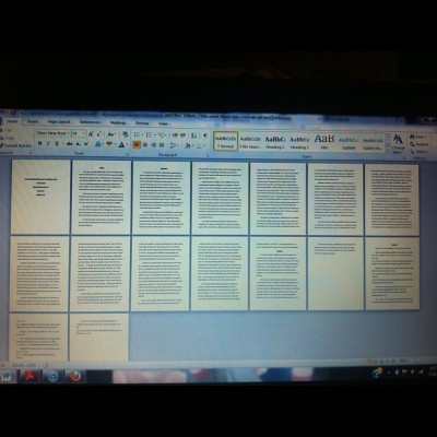 This is what I've been slaving on for the past 3 weeks. DONE. :D (Taken with instagram)