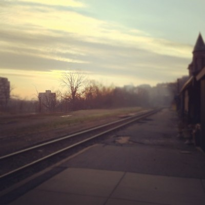 Taken with Instagram at Ann Arbor Train Station