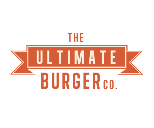 The Ultimate Burger Co. Final Logo Design, I have been playing around with colours to come up with the right colour way for the branding of my burger bar. I have taken inspiration from diners and 70's style design.