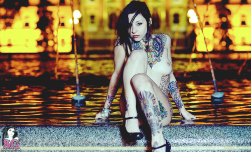 nude-and-modified:  Gogo Suicide - Black Vengeance