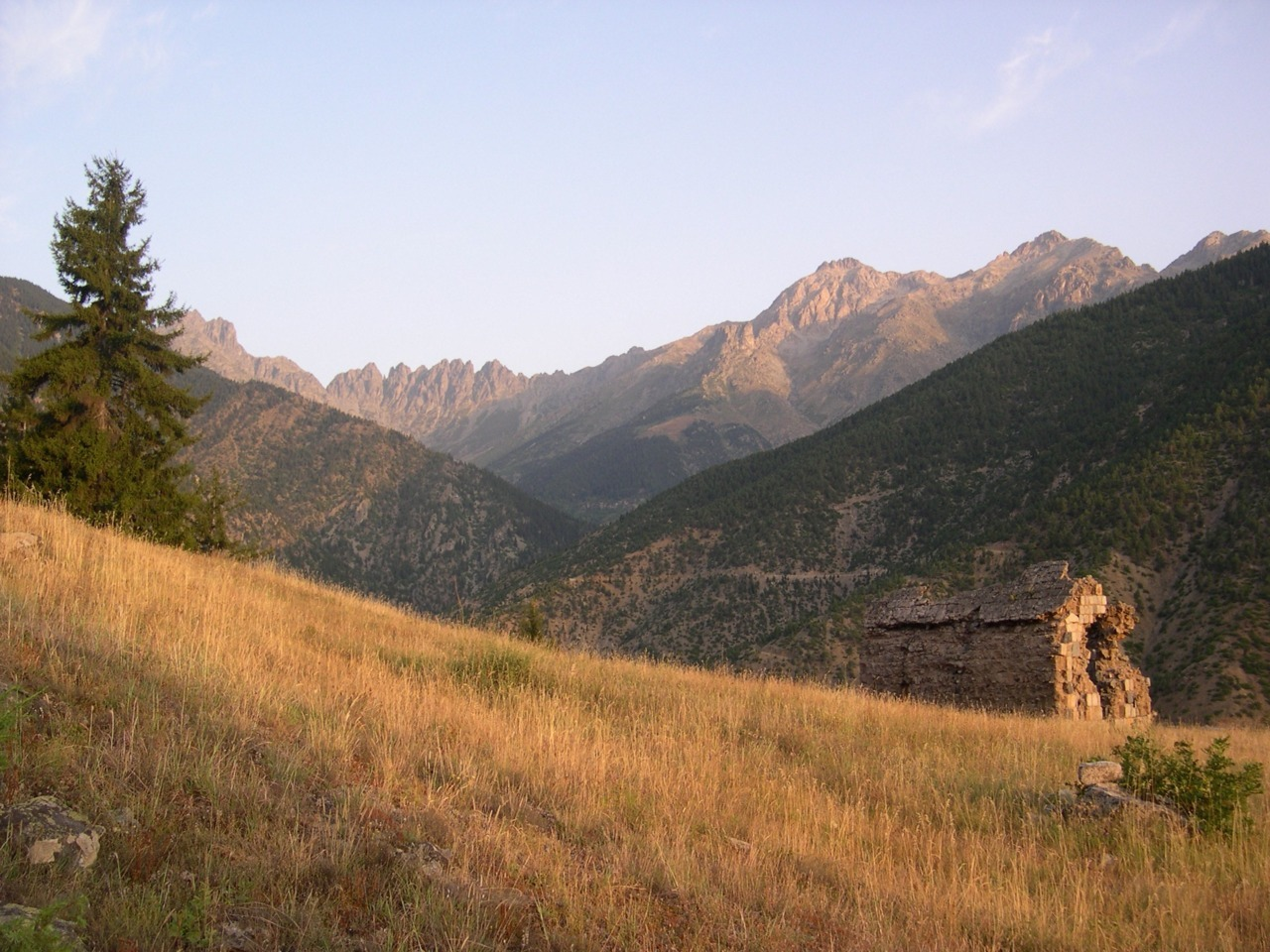 cabinporn:  Dilapidated chapel in the Kackar Mountains, Northeastern Turkey. Photographed by Nicholas Danforth.