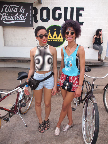 Brooklyn's own Charly & Margaux at this years SXSW Festival.