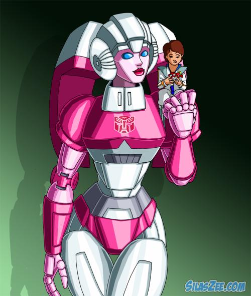 Arcee and Daniel.  Because there isn't enough art featuring the two of them together methinks.  ^_^