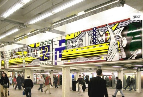 "Arts for Transit:  Let This App Be Your Guide to New York's Subway Art  It costs $25 for a ticket to MoMa these days, but only $2.25 to see artworks by the world's leading artists in a much gloomier, rat-infested environment – the New York subway. […] Until recently, if you wanted a statement like the above to interpret a piece of subway art, you'd have to visit the Arts for Transit website. But the agency is now touting an ""officially licensed app"" that gives riders ""comprehensive information about the wide variety of permanent artwork installed throughout the subway and rail system in New York."" Read more. [Image: MTA]   Download the app by clicking my post headline, ""Apps for Transit"". (For some reason, The Atlantic buried the app-download link in their article, which I've quoted and linked to above."