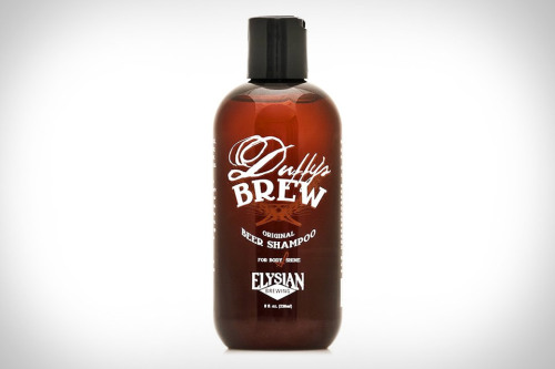 beer shampoo that's 100% vegan? count me in.