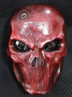 Blood Red Punisher Mask 1
