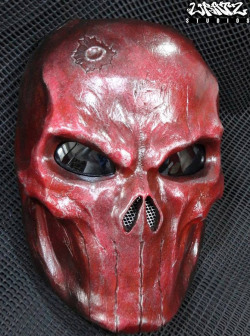 Blood Red Punisher Mask 4