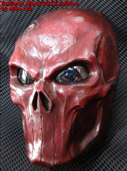 Blood Red Punisher Mask 3