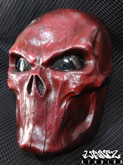 Blood Red Punisher Mask 2