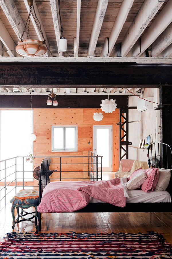 Planning on getting a warehouse loft in a year. This picture gets me excited.