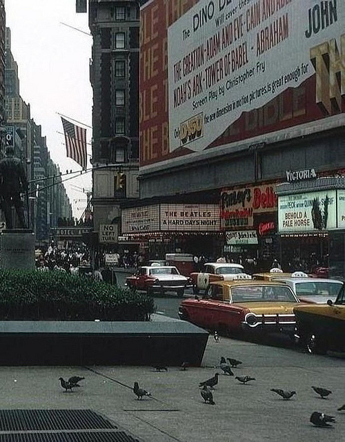fuckyeahvintage-retro:  New York City, 1964