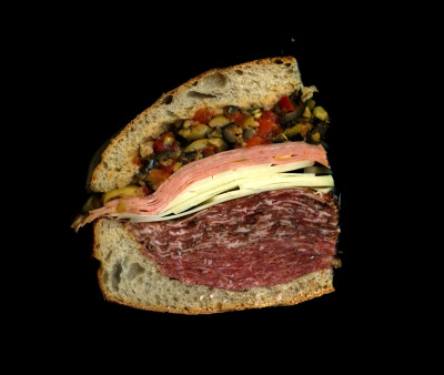 Scanwiches Book Special: The Muffaletta